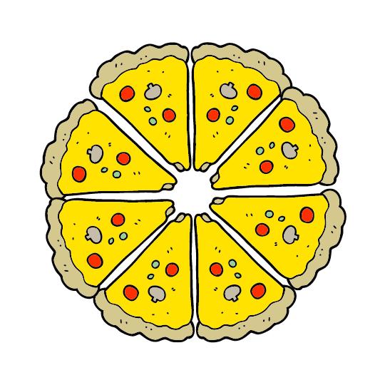 pizza punten