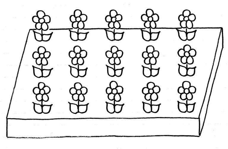 rechthoekmodel tafels leren