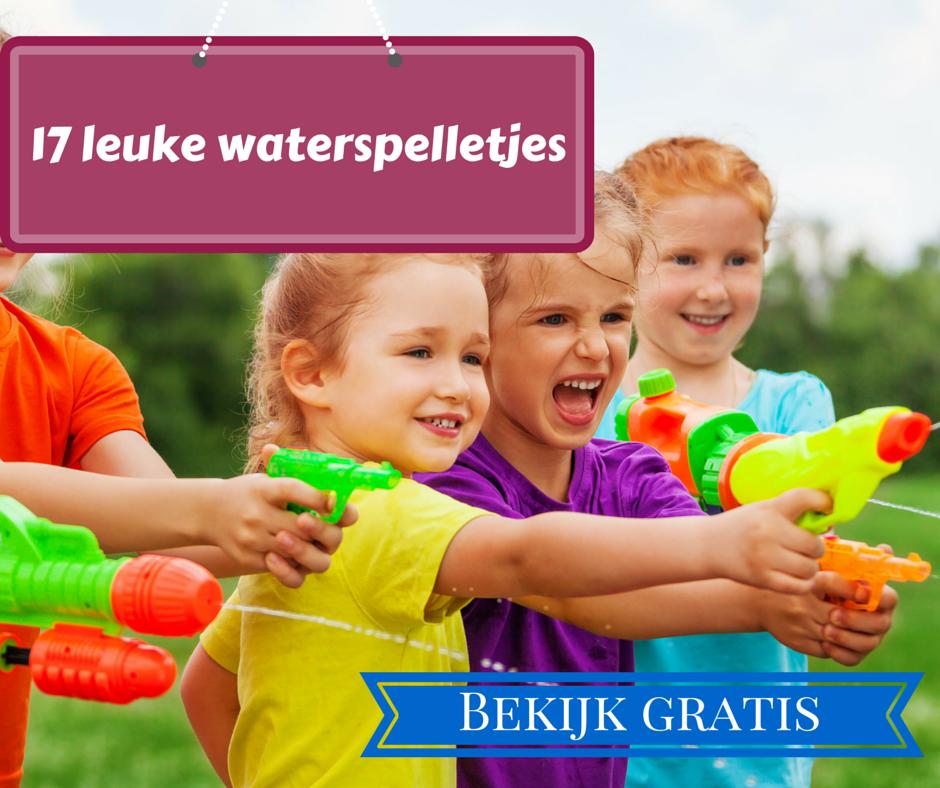 Populair 17 waterspelletjes voor kinderen UF49