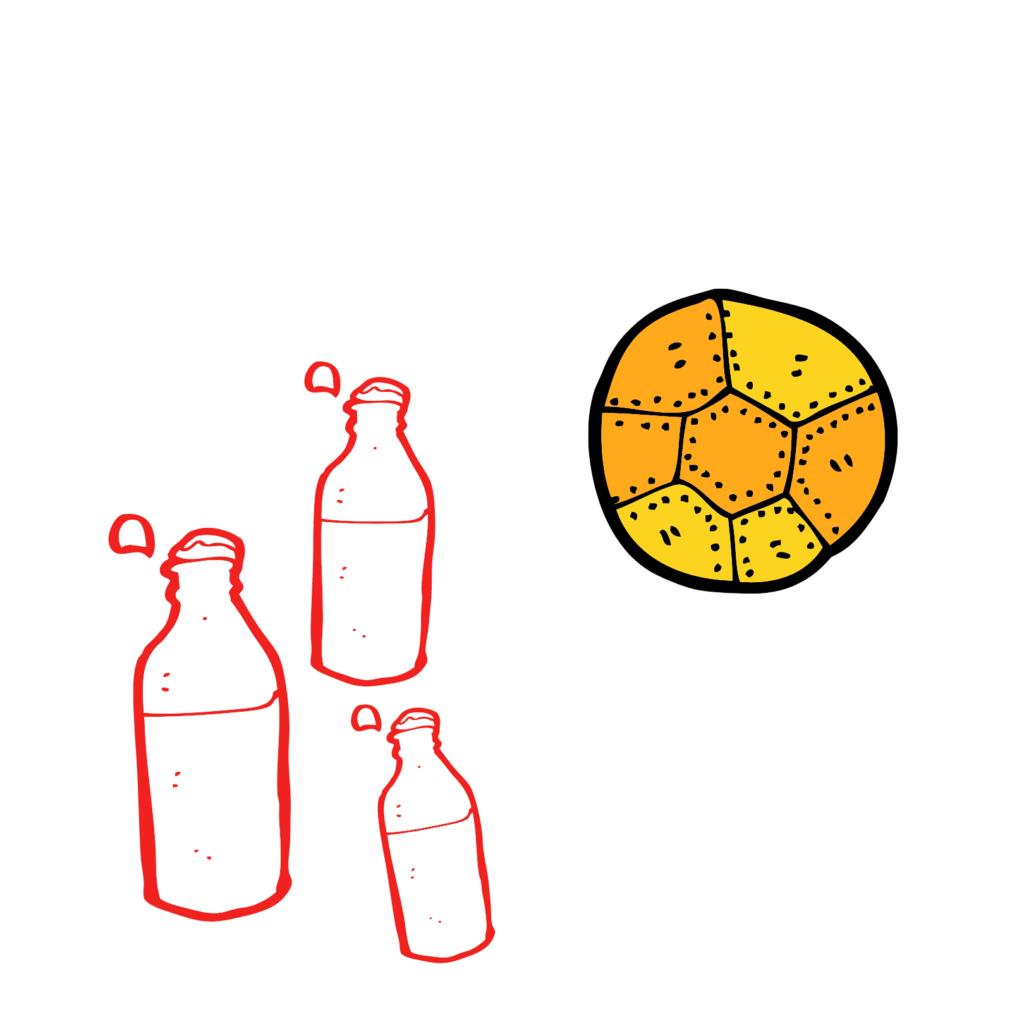 flessen bal
