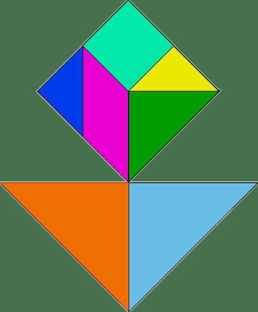 voorbeeld tangram