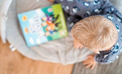 jongetje boek