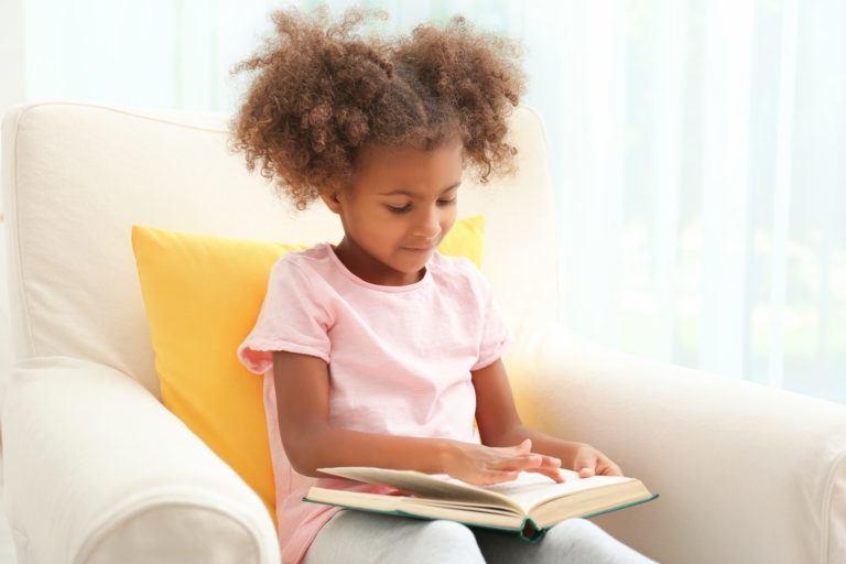 meisje lezen