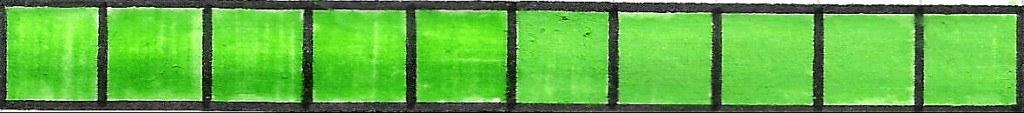 voorbeeld tiental in blokjes
