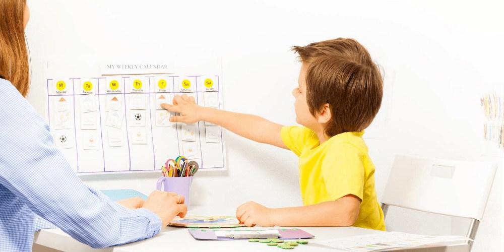 jongetje kalender