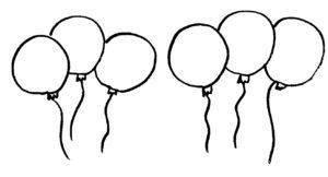 8 ballonnen