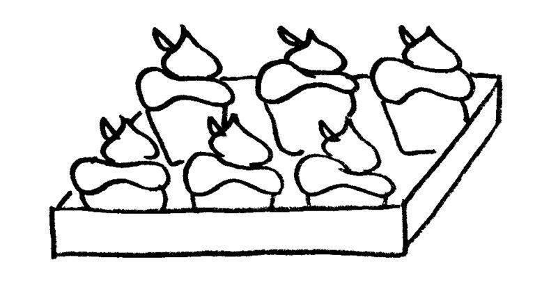 verhaaltjessommen groep 3 gebakjes