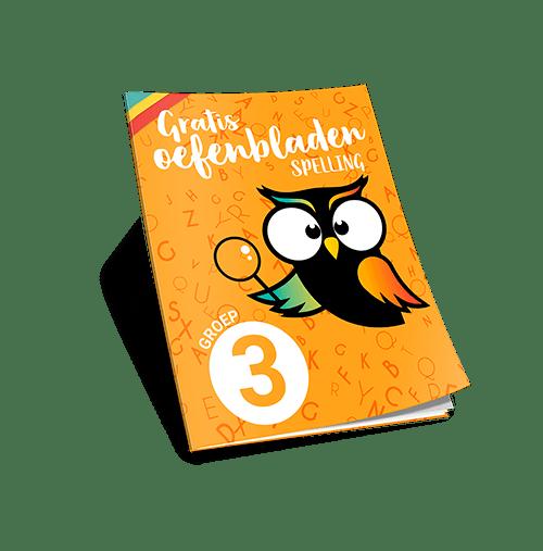 werkbladen spelling groep 3