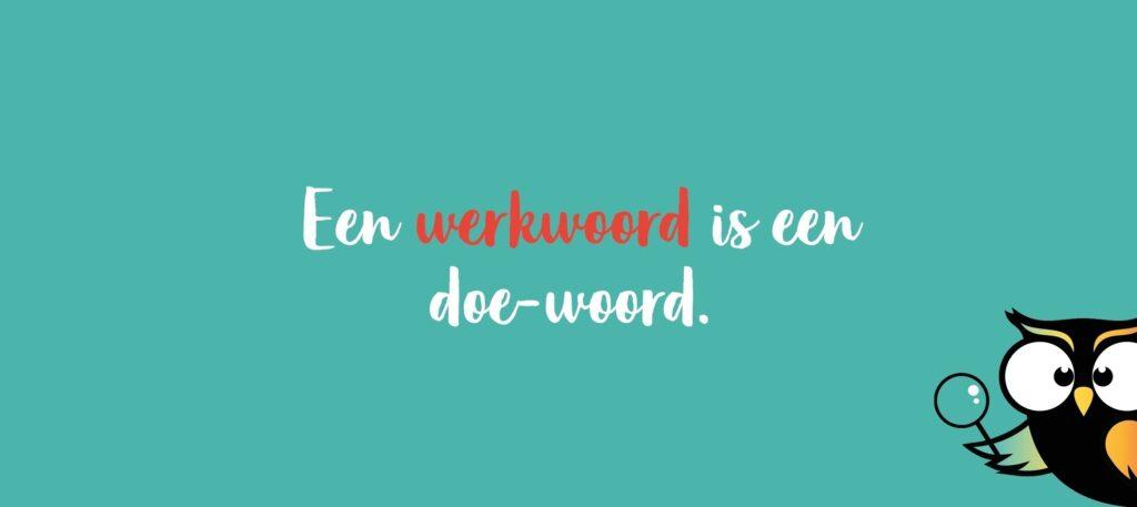 werkwoord