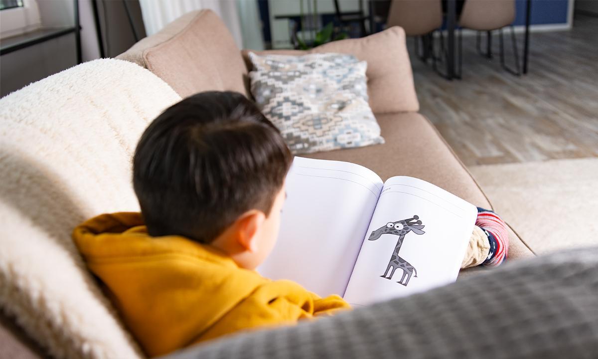 jongen oefenboek leren