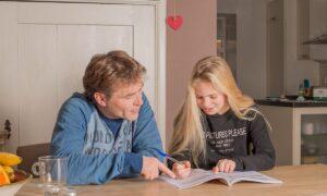 vader dochter oefenen werkboek
