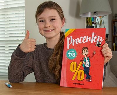 oefenboek procenten oefenen