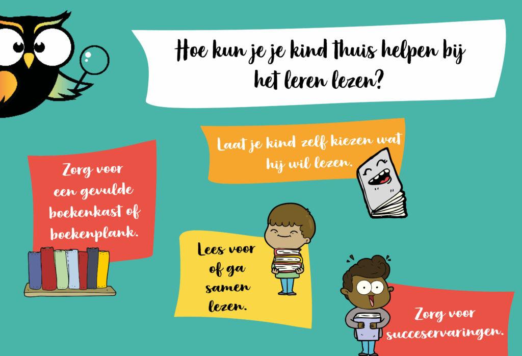 Hoe kind thuis helpen bij het leren lezen