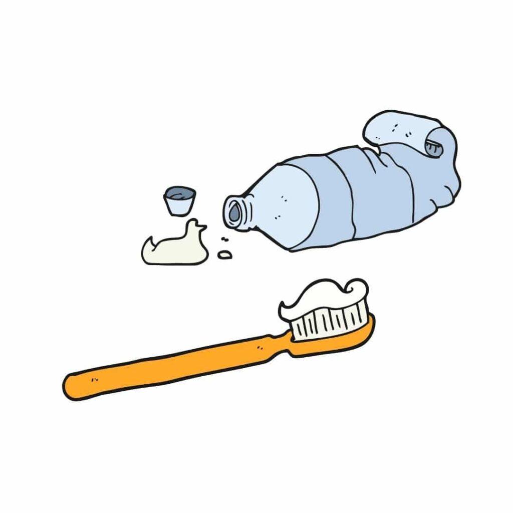 tandenborstel-en-tandpasta