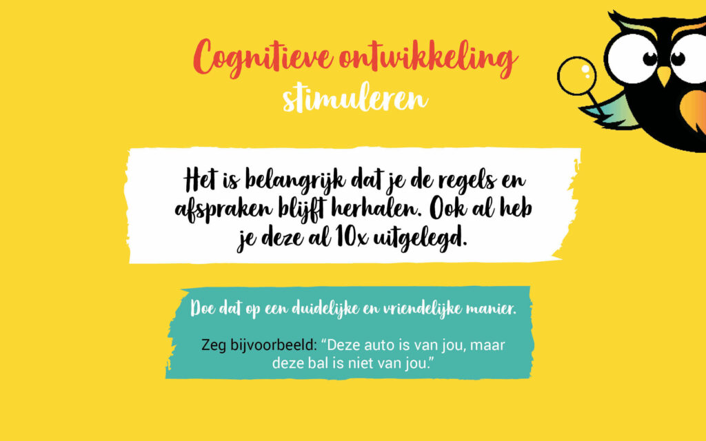 Cognitieve ontwikkeling peuter stimuleren