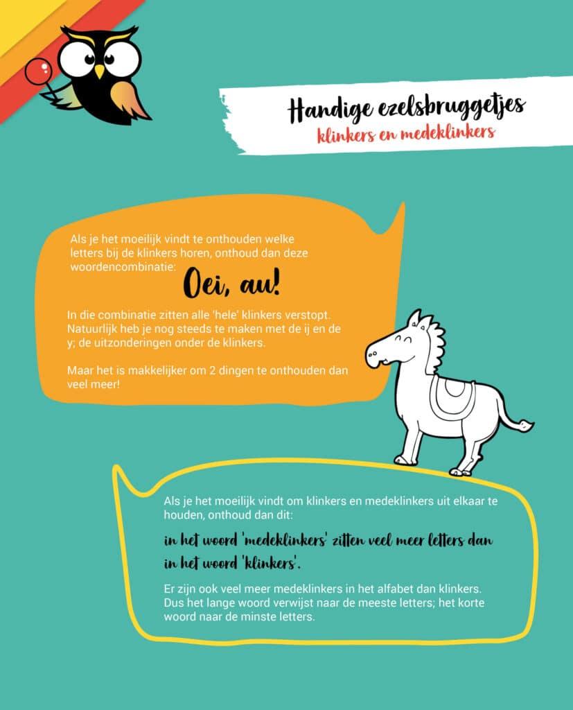 Handige ezelsbruggetjes