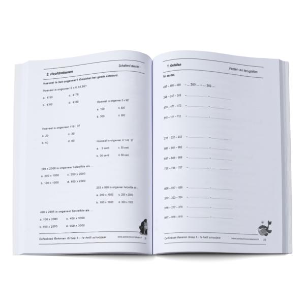 oefenboek groep 6