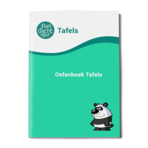oefenboek tafels