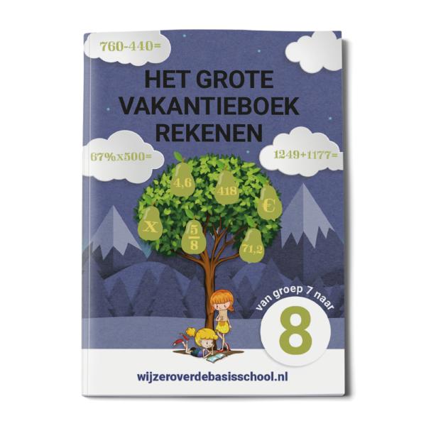 vakantieboek groep 8