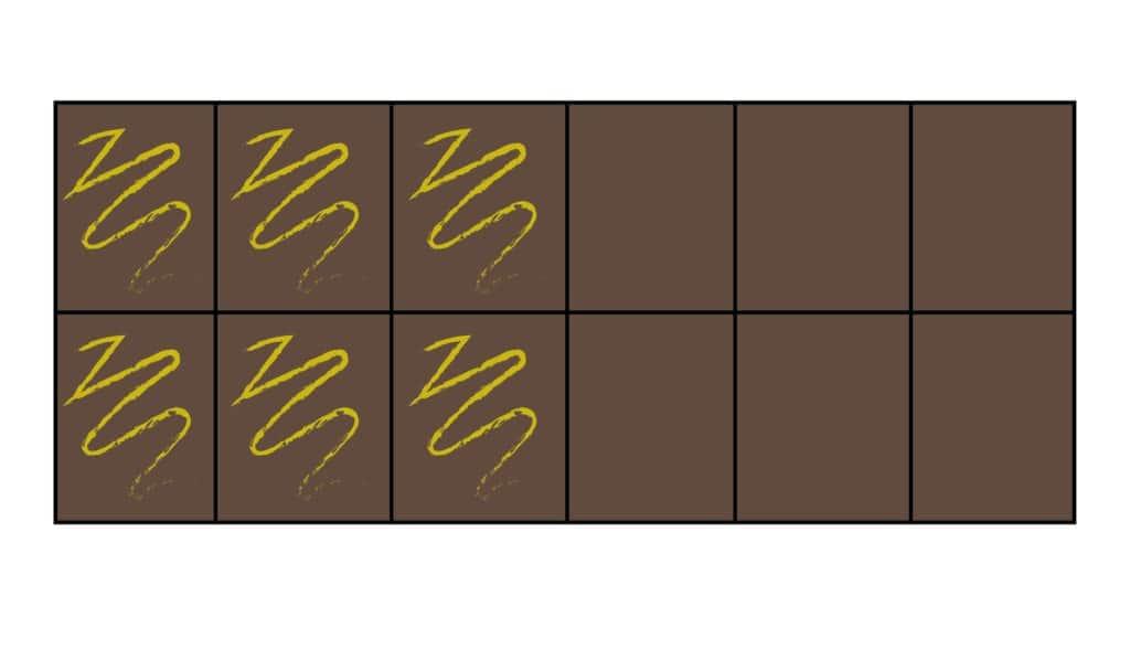 Chocoladereep breuken