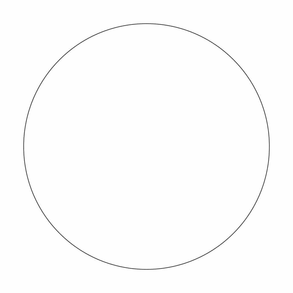 voorbeeld cirkel