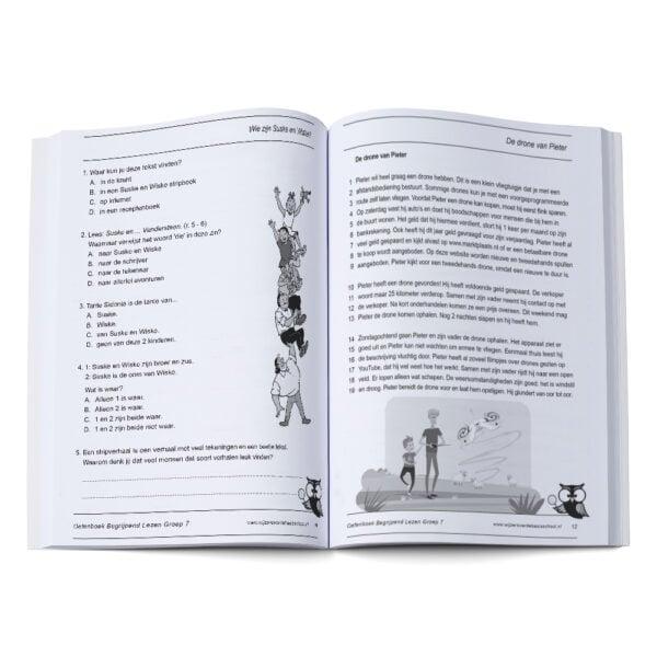 oefenboek begrijpend lezen groep 7 cito